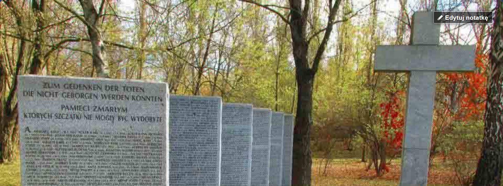 Kwatera żołnierzy niemieckich na Cmentarzu Północnym w Warszawie