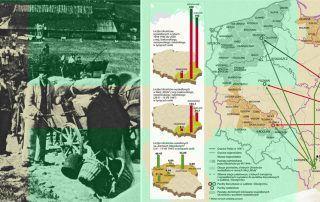 """Grafika z książki """"Akcja Wisła"""" Eugeniusza misiło"""