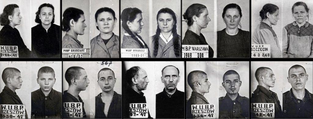 Skany zdjęć policyjnych Ukraińców skazanych przez sądy komunistyczne w Polsce